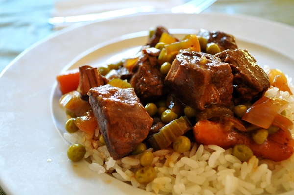 A slow cooker and some Asian spices make a delicoius stew