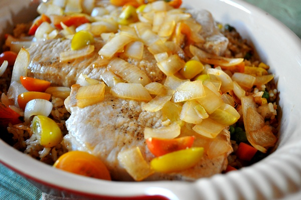Day-old rice makes a delicious casserole