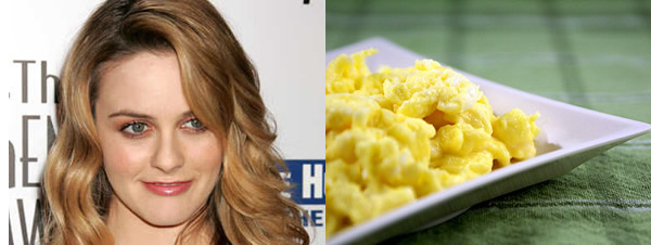 Pregnant Alicia Silverstone is craving eggs!