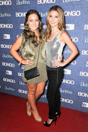 Audrina Patridge with her sister