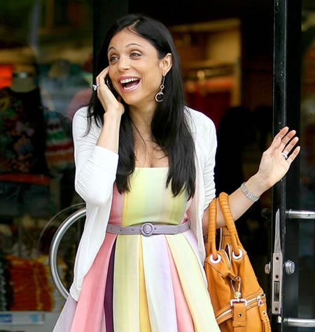 Bethenny Frankel laughing