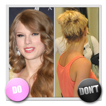 taylor swift curly hair natural. Taylor Swift embraces the