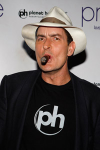 Charlie Sheen is a liar, according to Warner Bros.