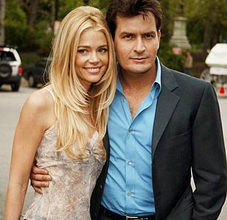 Charlie Sheen and Denise Richards: bad celebrity couple