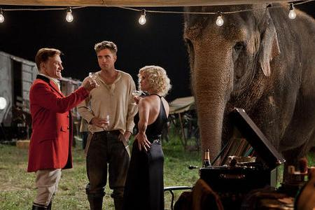 Christoph Waltz, Robert Pattinson and Reese Witherspoon in Water for Elephants