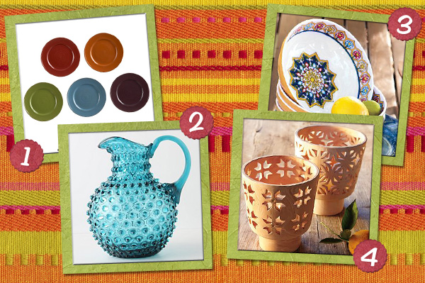 Mexico-inspired home accents