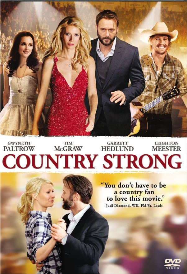 Country Strong out on DVD Blu Ray