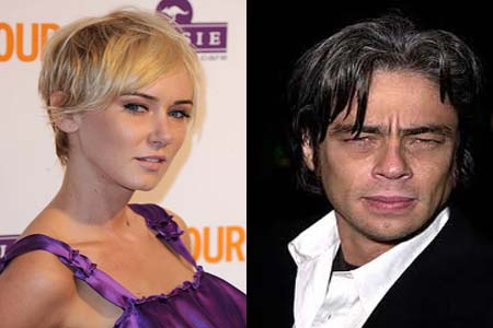 Benicio del Toro and Kimberly Stewart having a baby