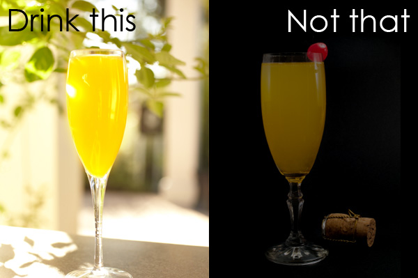 Drink this: Mimosa