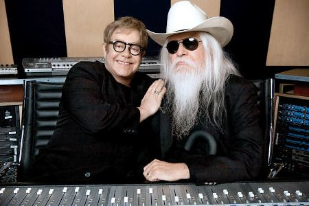 Elton John and Leon Russell in The Union