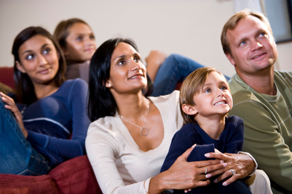 Make movie night a family affair