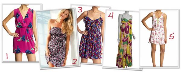 Flirty spring dresses