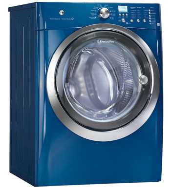 Front load steam washer