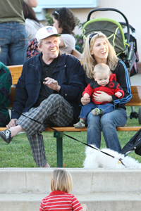 Gary Busey wife Steffanie and son Luke