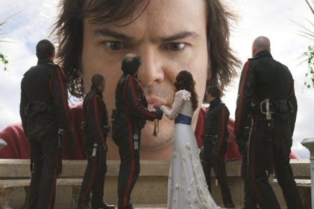 Gulliver's Travels stars Jack Black