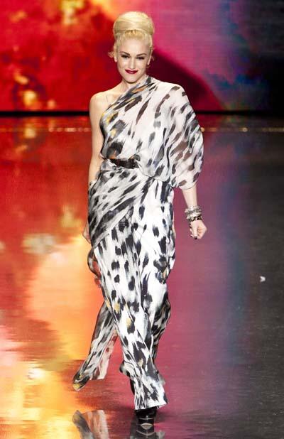 Gwen Stefani at NYFW Fall 2011