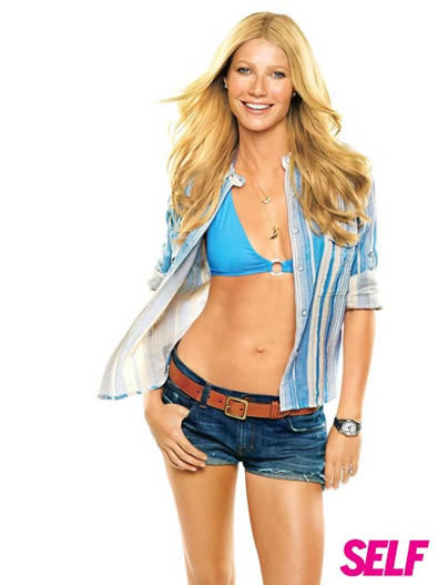 Gwyneth Paltrow in Self Magazine