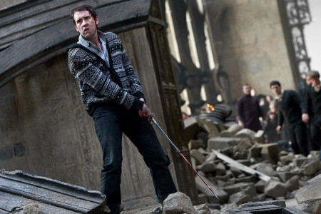 Neville Longbottom readies for action