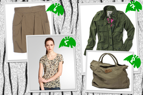 Jungle inspired fashion