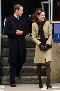 Kate Middlton and Prince William
