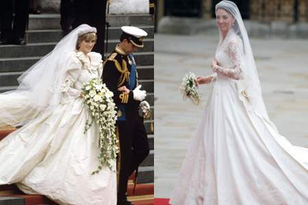 Princess Diana wedding dress