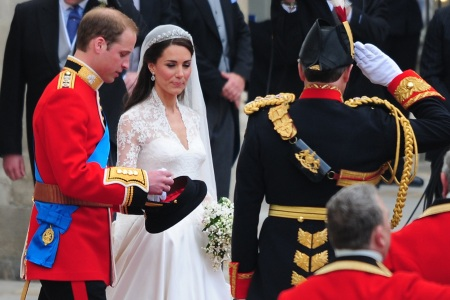 Prince William and Kate (Catherine) Middleton