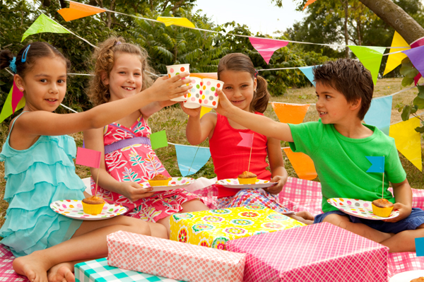 Kids birthday picnic