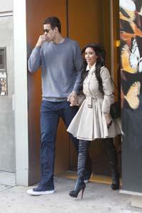 Kardashian picks out wedding dress