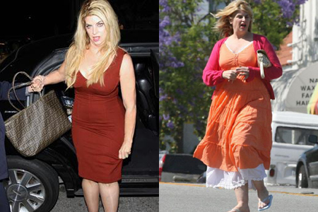 Kirstie Alley wearing size 6 after losing 60 pounds on DWTS