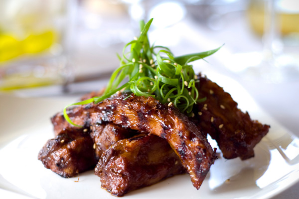 Korean pork ribs