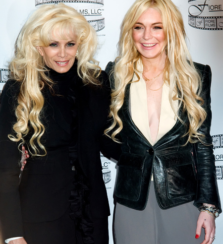 Lindsay Lohan Victoria Gotti