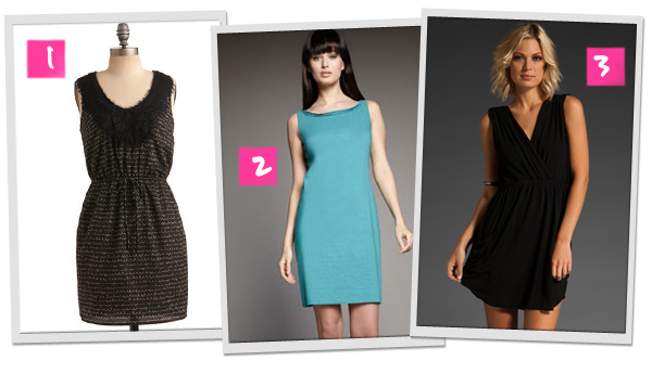 Little black dress alternatives