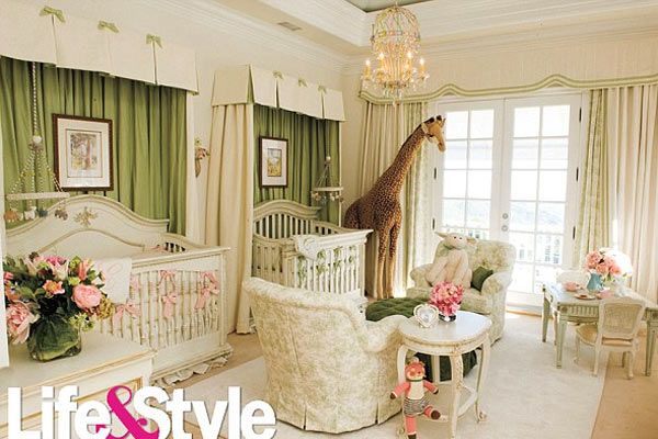 Mariah Carey's Nursery
