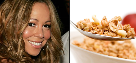 Pregnant Mariah Carey is craving cereal