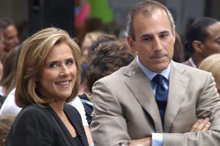 Matt Lauer and Meredith Vieira