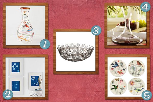 Home accents for mom