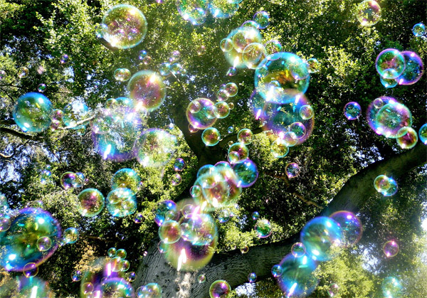 Bubble Rain by Steve Jurvetson