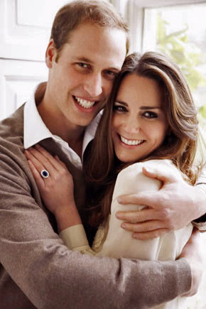 Prince William and Kate Middleton official engagement photo