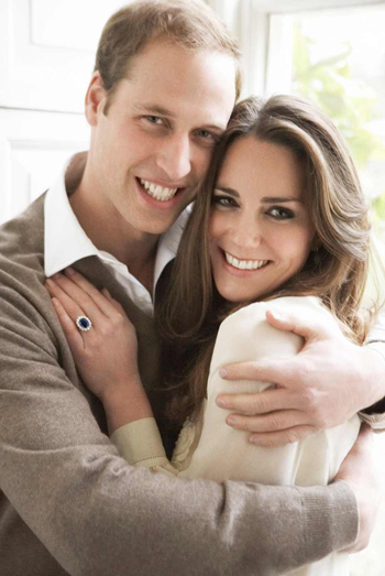 prince william engaged. Prince William, who is second