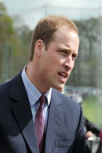 No table for Prince William!