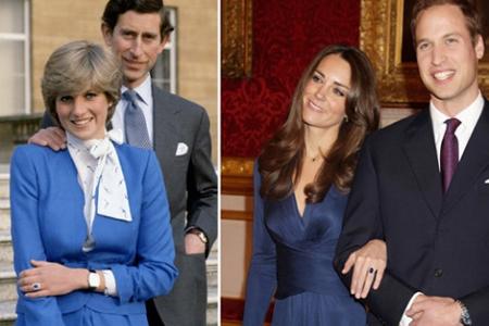 Princess Diana & Kate Middleton
