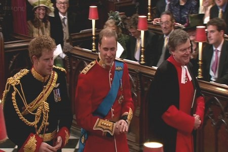 Prince Harry and Prince William The brothers looked like they had a full