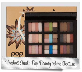 Pop Beauty Bare Texture eye shadow