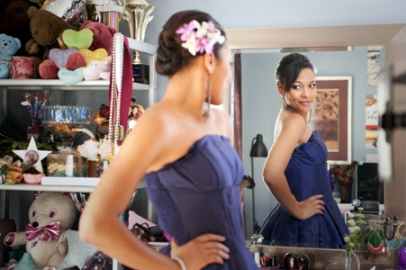 Kylie Bunbury readies for her Prom