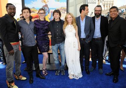 Rio cast at LA premiere