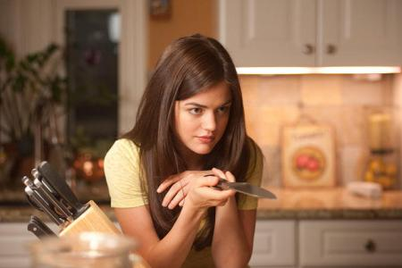 Lucy Hale in Scream 4