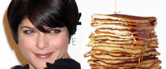 Selma Blair's pregnancy craving: Pancakes