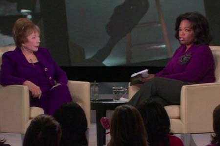 Shirley MacLaine dishes men to Oprah