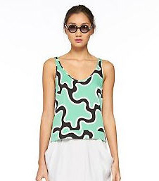 sleeveless tops, summer fashion, hot weather fashion, Diane Von Furstenberg,