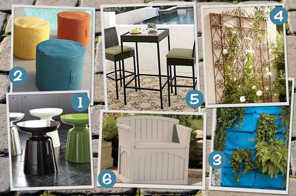 Backyard decor for small spaces - Patio Decorating Tips For Summer